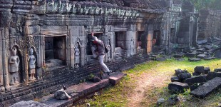 Tomb Raiding in Angkor Wat