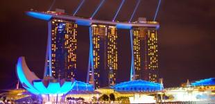 Glitzy Singapore